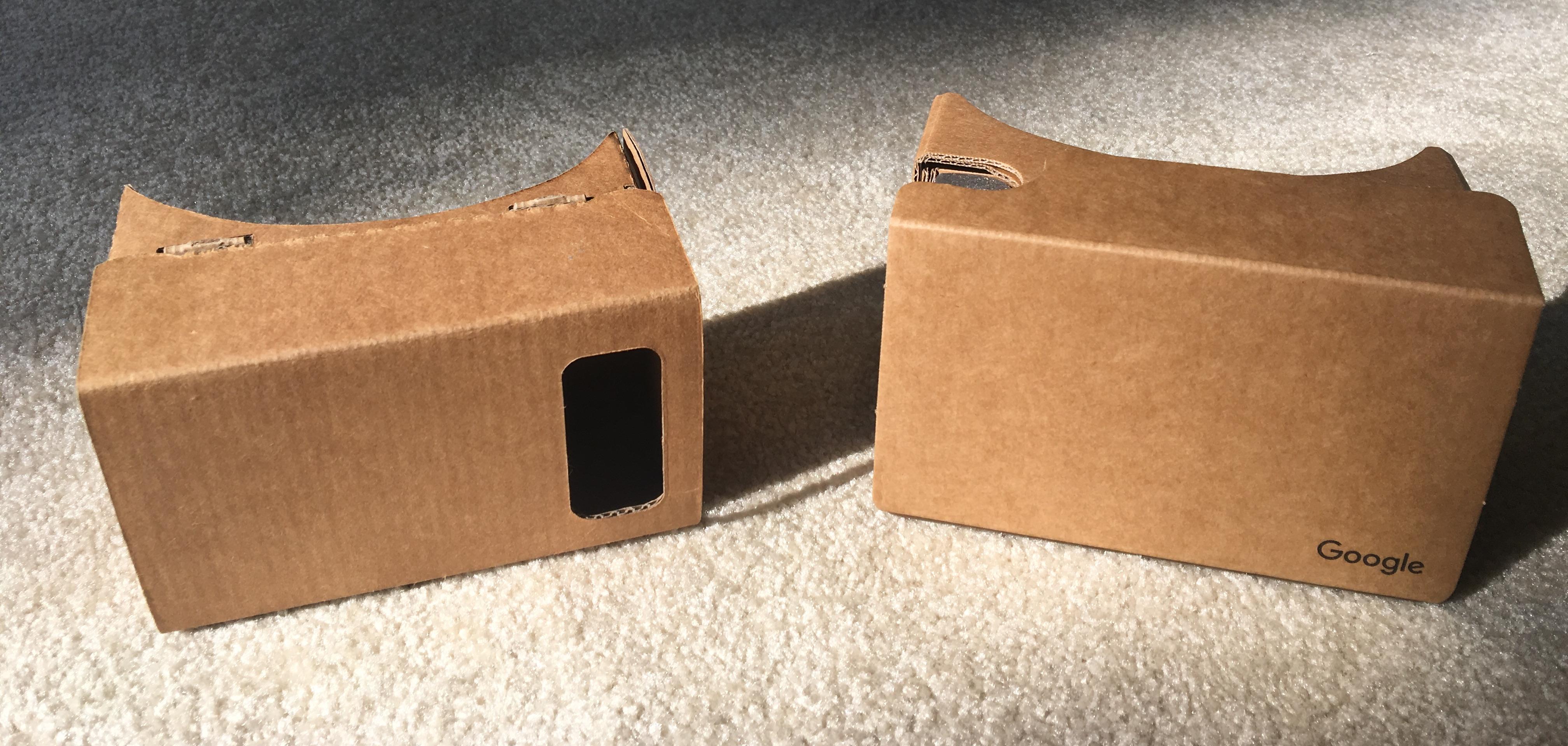 Google Cardboard as